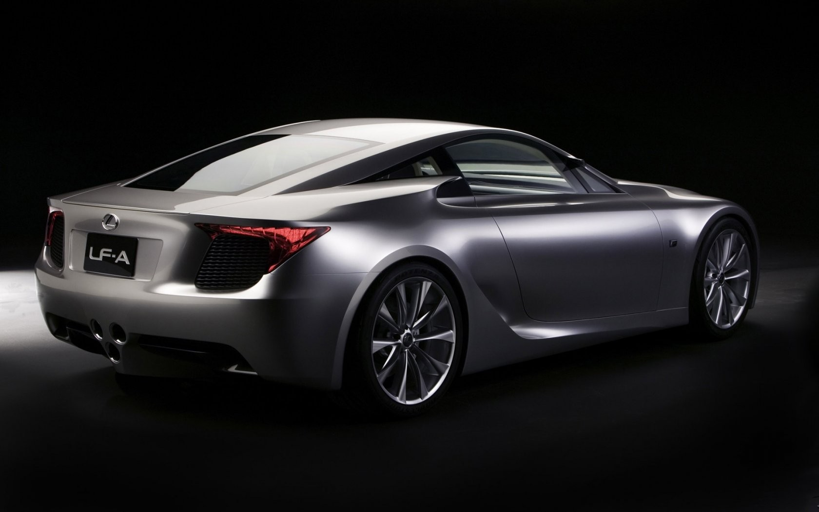Lexus Lf A Concept Rear Angle Wide