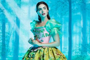 Lily Collins As Snow White Wide