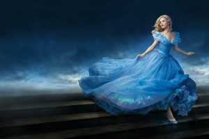 Lily James As Cinderella Wide