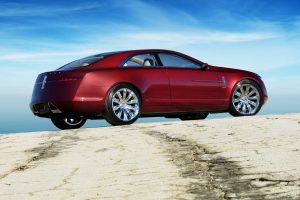Lincoln Mkr Concept Blue Sky Wide