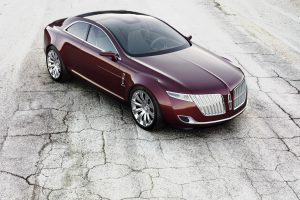 Lincoln Mkr Concept On The Road Wide