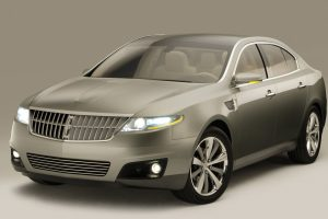 Lincoln Mks Concept Front Angle Wide