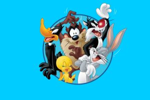Looney Tunes Characters Wide