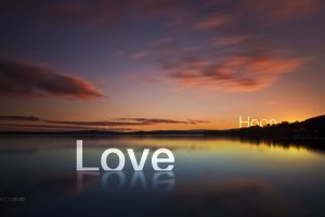 Love Piece And Hope Wide