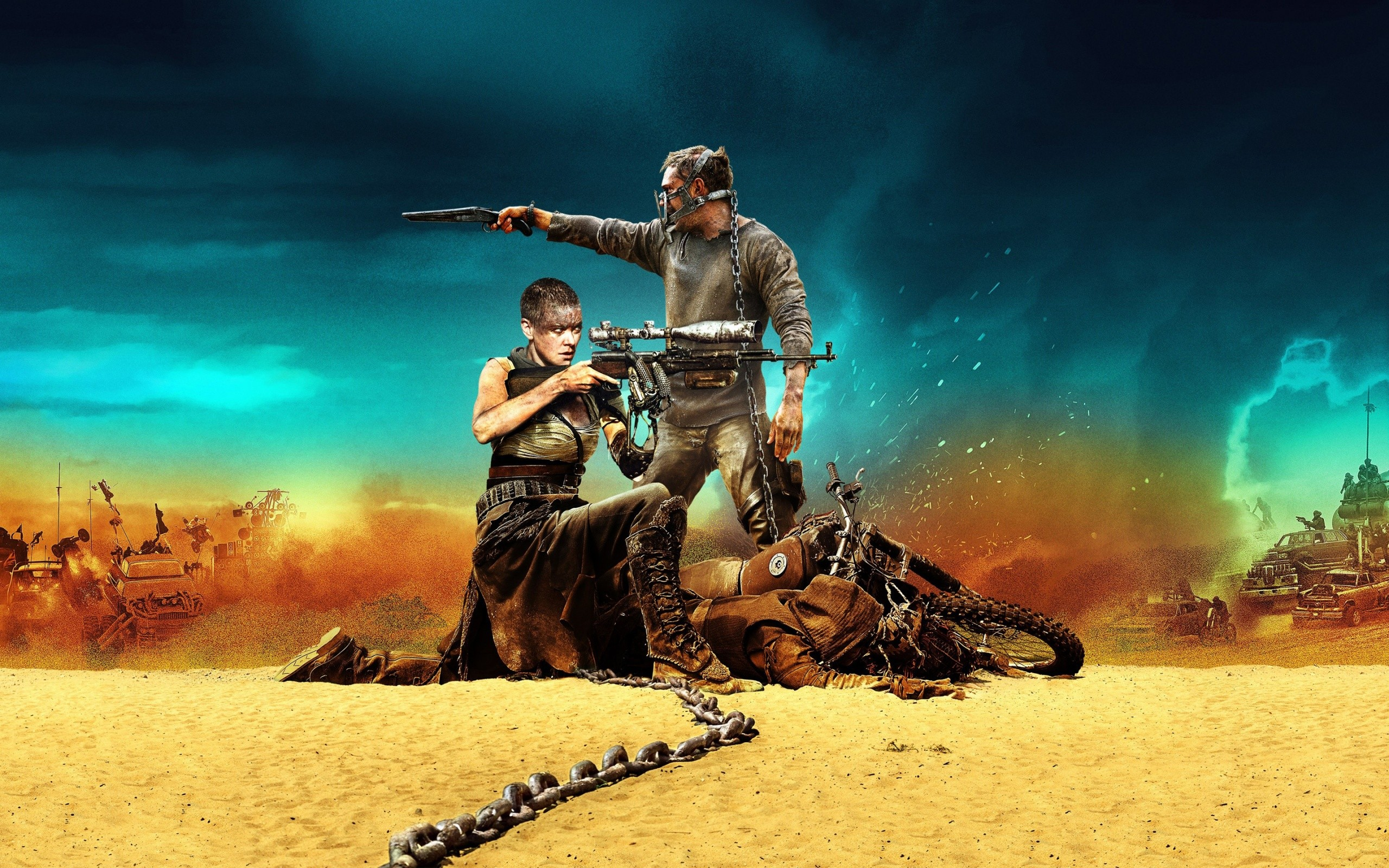 Mad Max Fury Road 2015 Wide