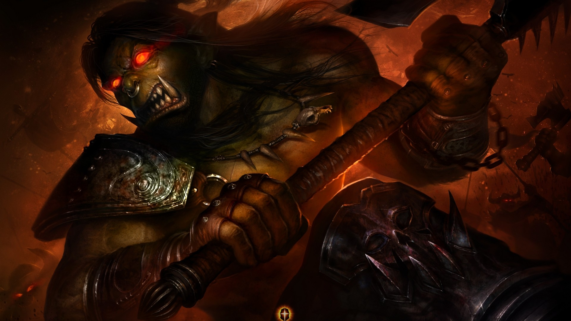 Mad Orc Warrior