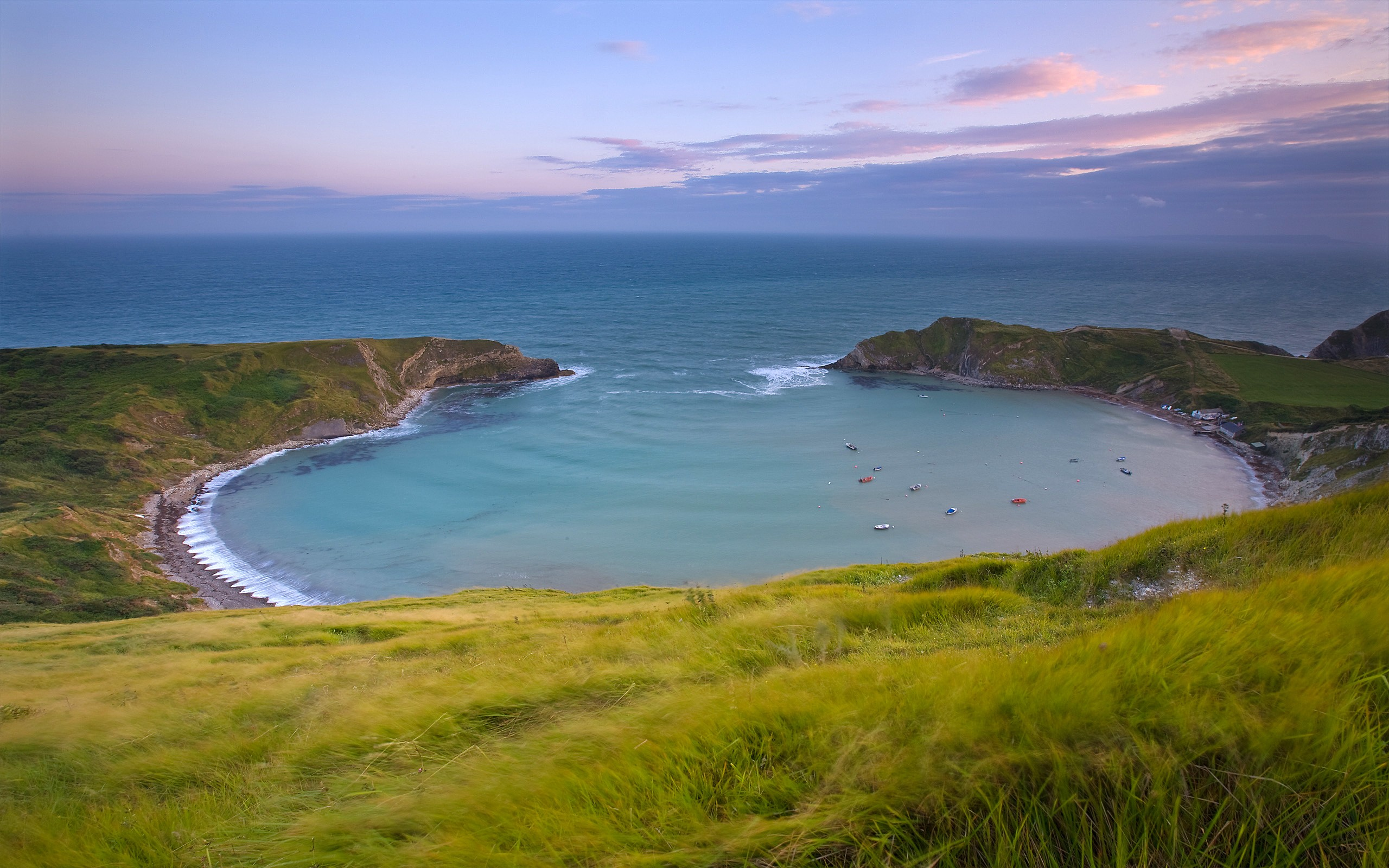 Magnificent Lulworth Cove Wide