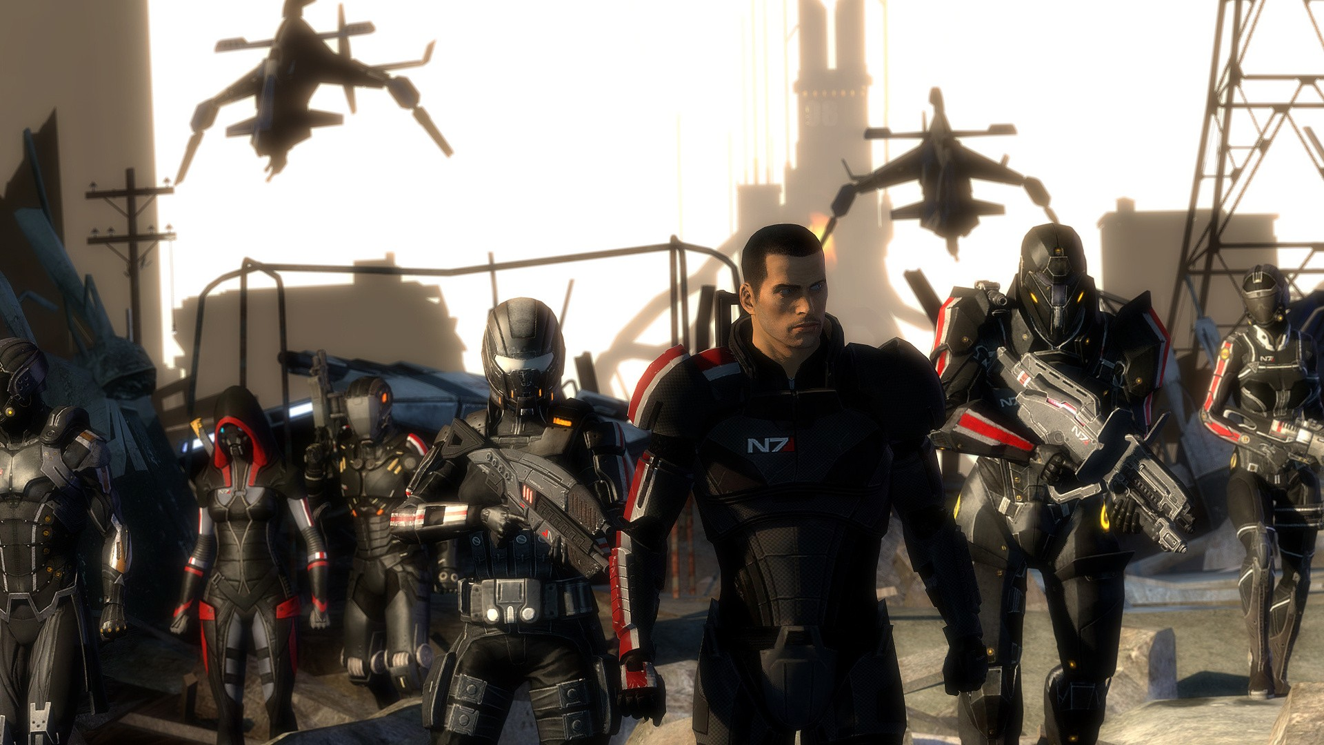 Mass Effect N7 Cool Stand
