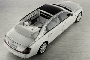 Maybach Landaulet Top View Wide