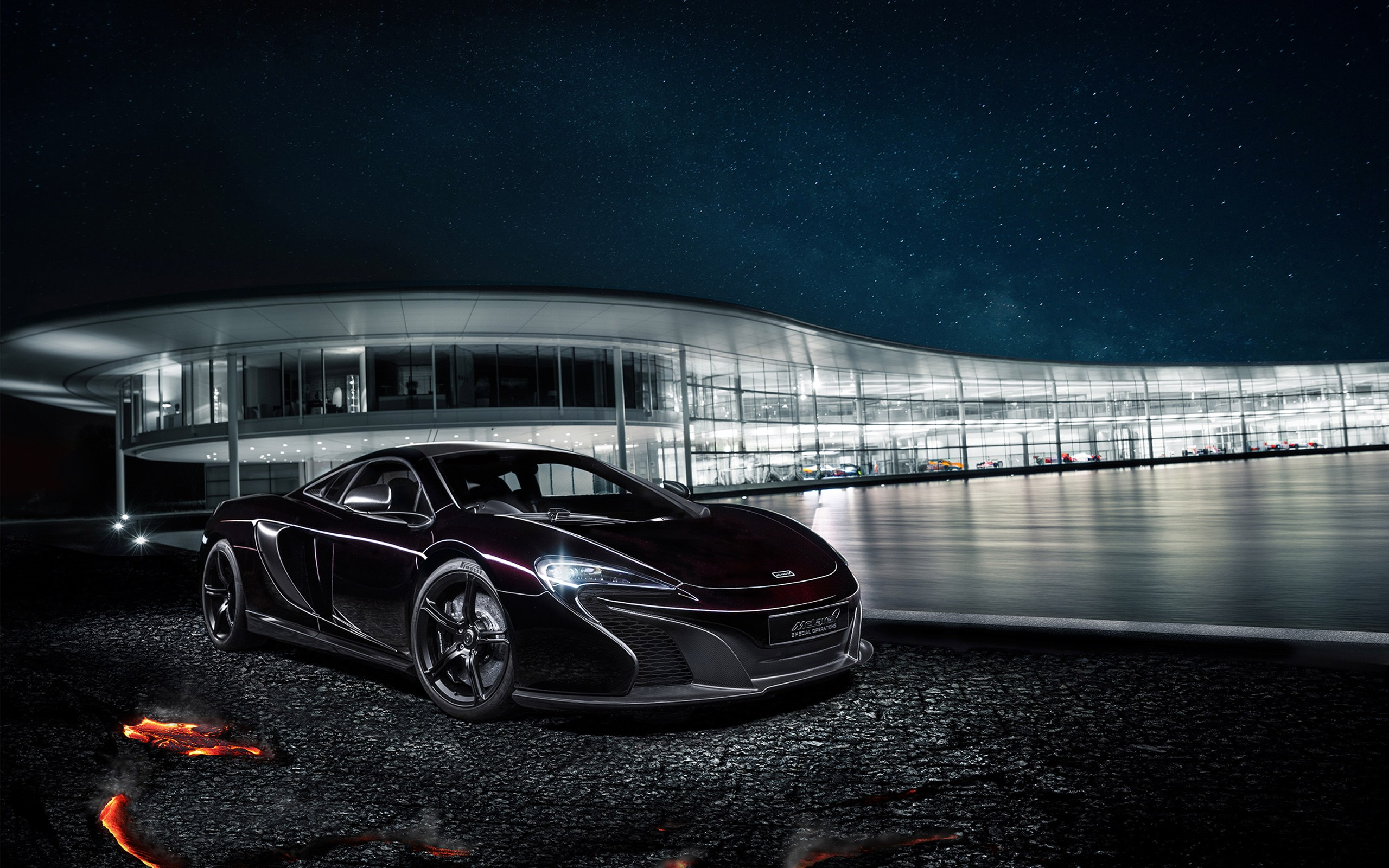 Mclaren Mso 650s Coupe Concept 2014 Wide