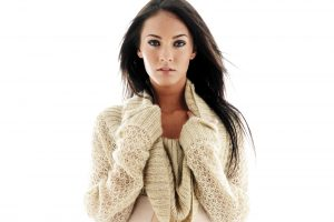 Megan Fox In White Sweater