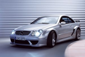 Mercedes Benz Clk Dtm Amg Front Left View
