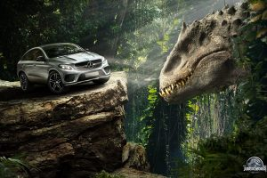 Mercedes Benz Gle Coupe Jurassic World Wide