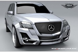 Mercedes Benz Glk350 Front Wide