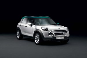 Mini Crossover Concept Front Wide