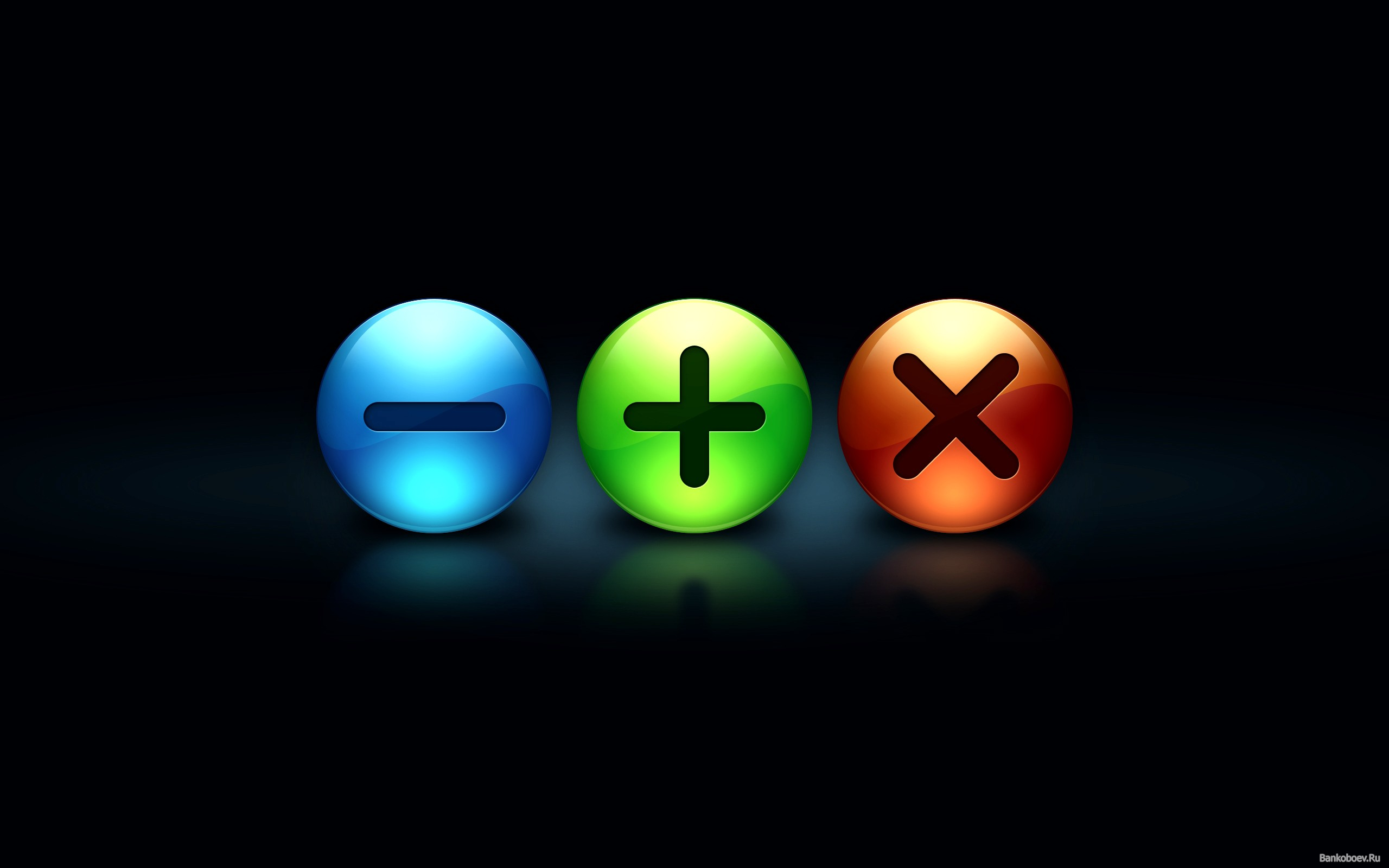 Minus Plus And Multiplication Wide