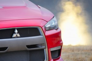 Mitsubishi Evo X Front Focused