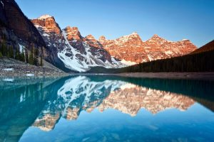 Moraine Lake Reflections Wide