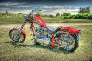 Motorcycle Art Wide