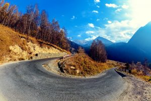 Mountain Hairpin Curve Wide