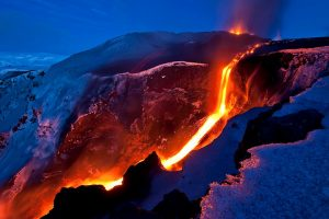 Mountain Of Fire Wide