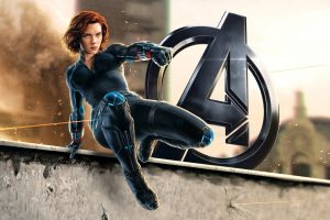 Natasha Romanoff Black Widow Wide