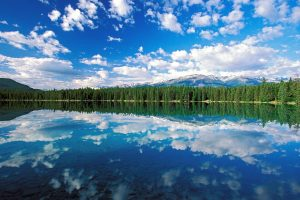 National Park Edith Lake Jasper