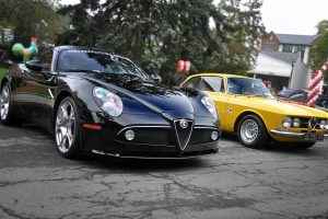 New And Old Alfa Romeo Wide