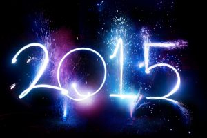 New Year 2015 Wide