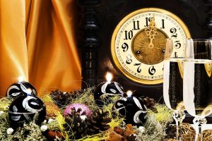 New Year Time Wide