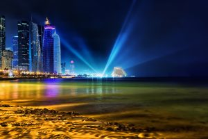 Night In Doha