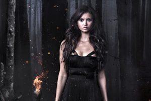 Nina Dobrev In The Vampire Diaries Wide