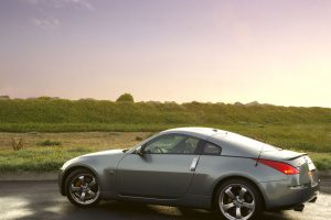 Nissan 350z Side View Outdoor