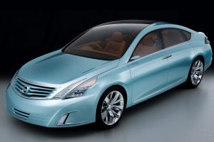 Nissan Intima Front Right Angle
