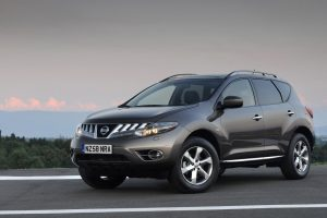 Nissan Murano Front Angle Wide
