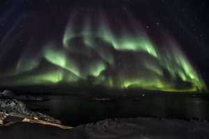 Northern Sky Aurora Wide