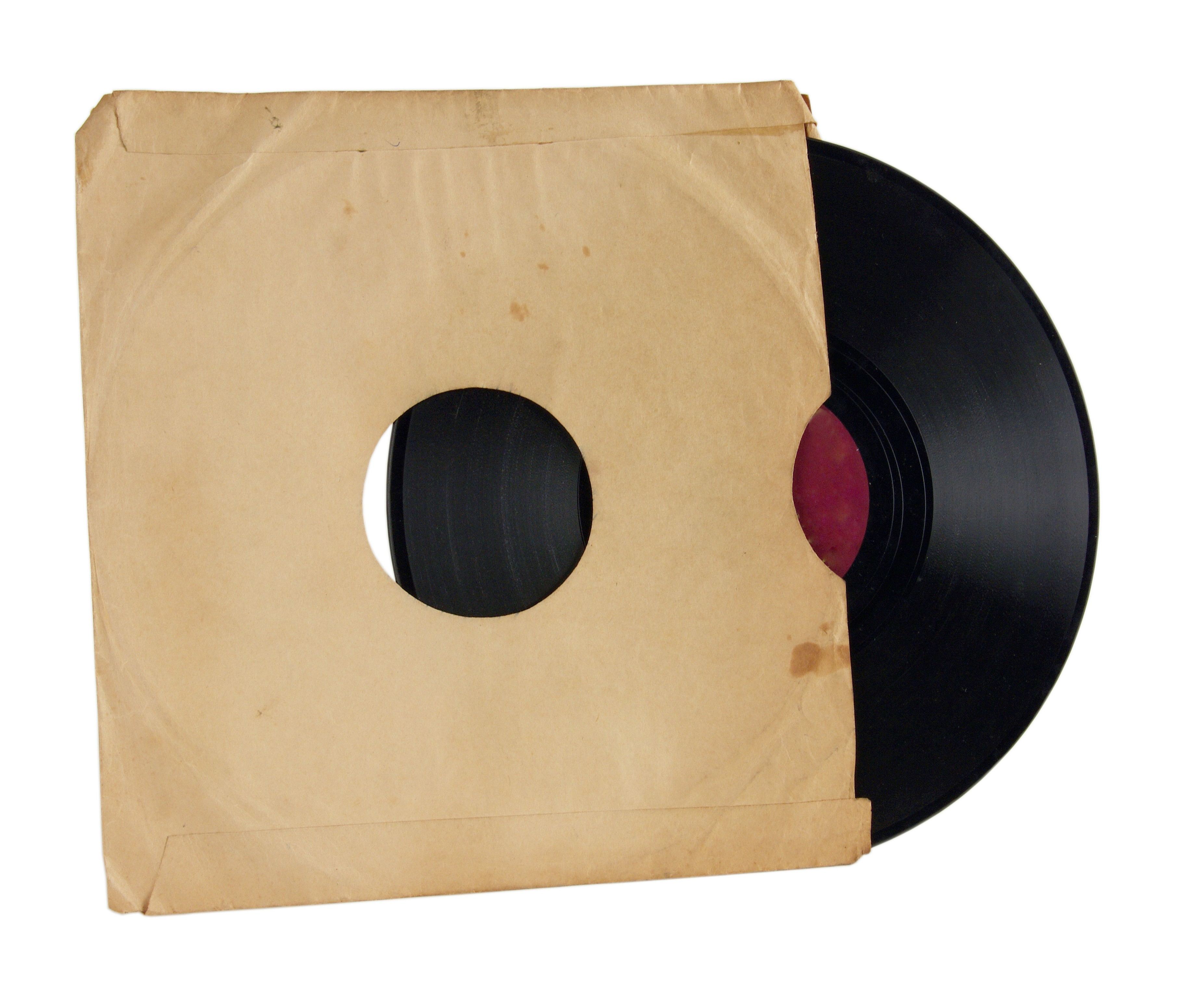 Old Record In Old Paper Other