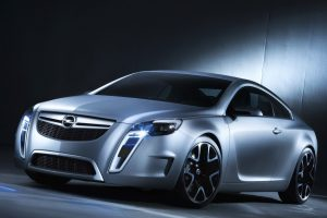 Opel Gtc Concept Silver Wide
