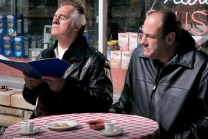 Paulie Walnuts And Tony Soprano