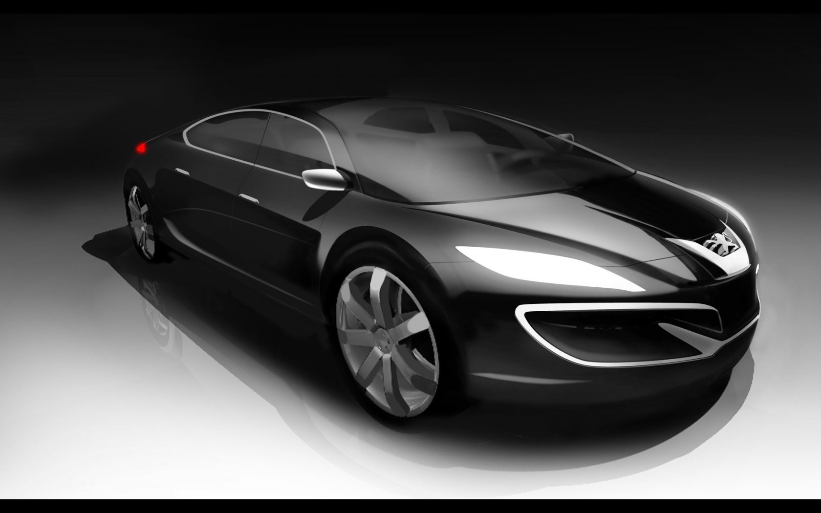 Peugeot 908 Rc Concept Front Angle Art Wide