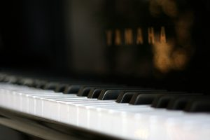 Piano In Focus Wide