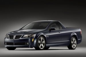 Pontiac G8 Sport Truck 2010 Front Angle Wide