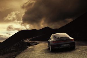 Porsche 911 Carrera 4 On Road