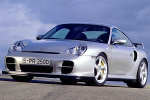 Porsche 911 Gt2 Silver Photo Shooting