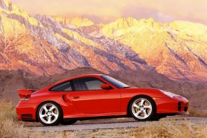 Porsche Gt2 Driving To The Top