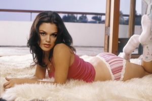 Rachel Bilson On The Bed