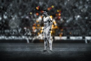 Rainy Day For Ronaldo