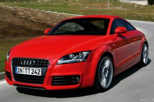 Red Audi TT Coupe