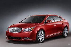 Red Buick Lacrosse Wide