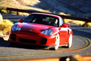 Red Porsche 911 Cool Shoot